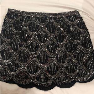 Forever 21 Sequin Mini Skirt